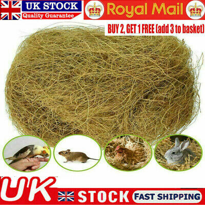 £5.85 • Buy Pet Canary, Finch, Budgie Quality Cage Bird Nesting Material For Birds Dog Cat