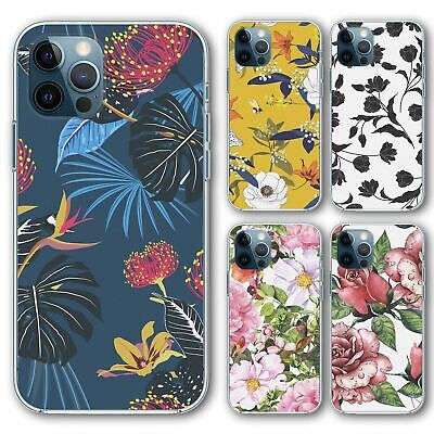 £6.95 • Buy For IPhone 12 Mini Silicone Case Cover Flower Group 28