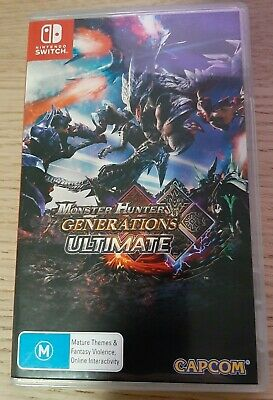 AU17.50 • Buy Monster Hunter Generations Ultimate (Nintendo Switch) - Used In Great Condition
