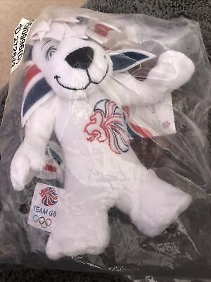£4 • Buy Packaged Pride The Lion London 2012 Olympic Soft Toy Official Merchandise