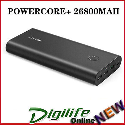 AU125 • Buy Anker Powercore+ 26800mAh Portable Power Bank With Qualcomm Quick Charge 3xUSB