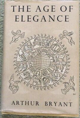 £2.99 • Buy The Age Of Elegance By Arthur Bryant 1954 Reprint Society.