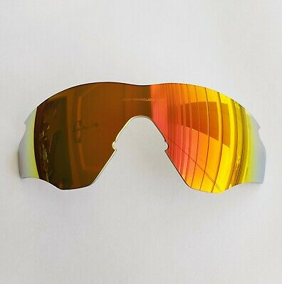 $64.99 • Buy Oakley M2 Frame XL Fire Iridium Replacement Lens Authentic Red Yellow