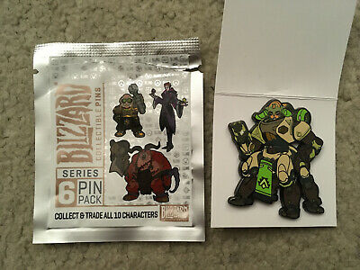 AU12.86 • Buy Blizzard Collectible Pins Series 6 Overwatch Orisa (color)