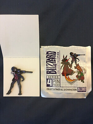 AU12.86 • Buy Blizzard Collectible Pins Series 4 Overwatch Widowmaker (color)