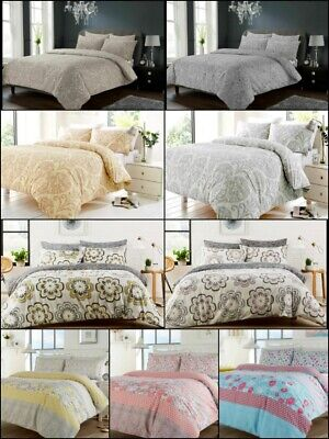 £14.97 • Buy Luxury Chelsea / Peony/ Chloe/ Chantilly Print Floral Design Quilt Duvet Cover S