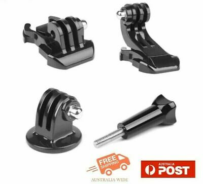 AU14.95 • Buy 4 Pack Basic Mount Adapter Set For GoPro & Most Action Camera Accessories AU