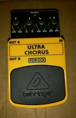 $ CDN16.19 • Buy Behringer UC200 Ultra Chorus Guitar Effects Pedal - Boxed And With Instructions