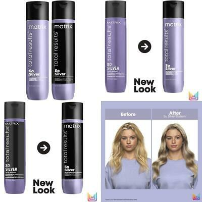 £18.99 • Buy Matrix   Total Results   So Silver   Toning Purple Shampoo   For Blondes, Greys