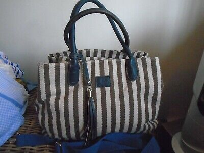 £12.50 • Buy Large Ness Woven Canvas Bag - Excellent Condition