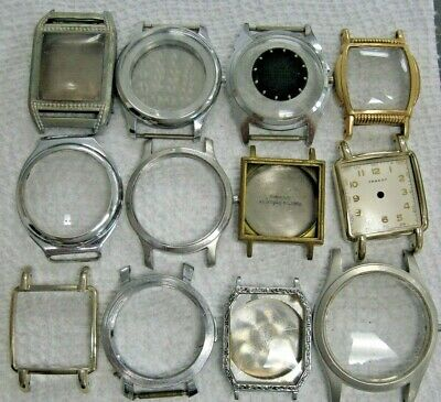 $ CDN42.35 • Buy Antique - Vintage Wrist Watch Lot 12 Cases