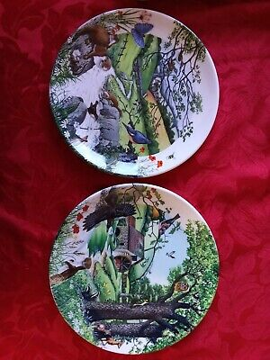 £8.99 • Buy Wedgwood Collectors Plates THE MILL STREAM 1990 And THE BABBLING BROOK 1989