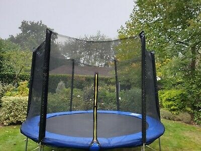 £13.20 • Buy 10ft 6 Pole Trampoline Net - New And Unused
