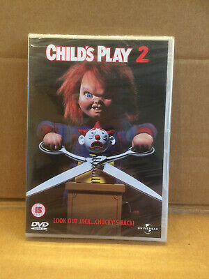 £9.99 • Buy Child's Play 2 (DVD, 2008) NEW And SEALED (Chucky Horror Slasher)