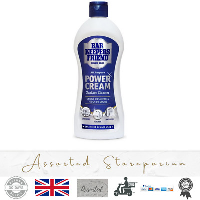 £3.95 • Buy Bar Keepers Friend Stain Remover Power Cream Multi Surface Cleaner Clean Restore