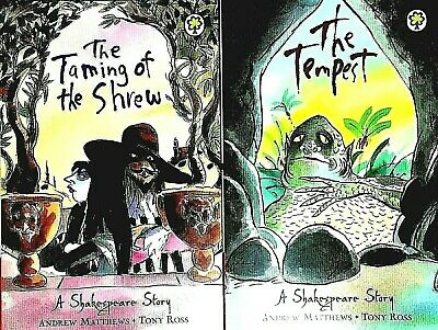 £4.98 • Buy The Tempest And Taming Of The Shrew, Shakespeare Stories, 2 Books, New
