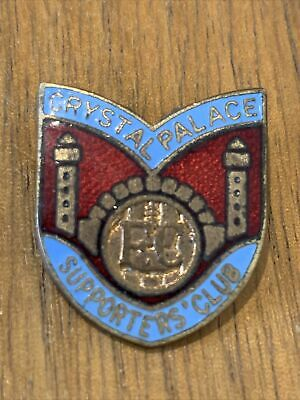 £6.99 • Buy Vintage Crystal Palace Supporters Club Enamel Pin Badge