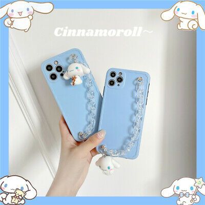 AU11.99 • Buy Cartoon Cinnamoroll Bracelet Doll Case Cover For IPhone 12 11 Pro Max XS XR 7 8+