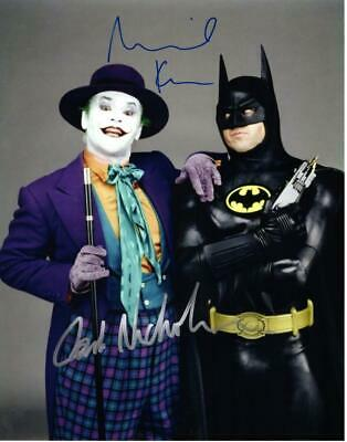 £106.80 • Buy Jack Nicholson Michael Keaton Signed 11x14 Picture Autographed Photo With COA