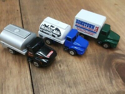 $8.50 • Buy Lot Of 3 Maisto Tonka Utility Delivery Tanker Milk Truck, Hometown Collectibles