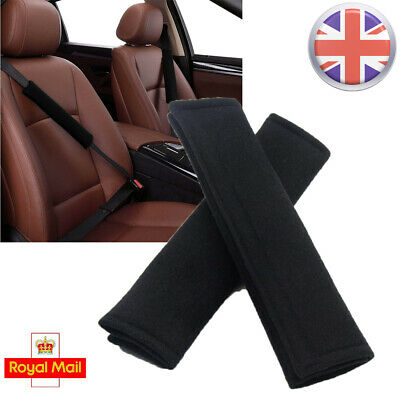 £3.15 • Buy 1/2 Pairs Universal Car Seat Belt Cover Pads Car Safety Cushion Covers Strap Pad