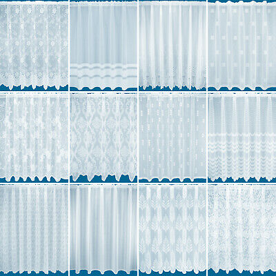 £2.75 • Buy Net Window Curtains - Slot Top - Free Postage - Very Cheap - Sold By The Metre