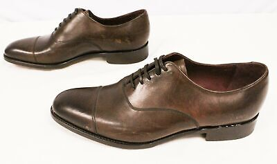 £71.58 • Buy Charles Tyrwhitt Men's Goodyear Welted Oxford Toe Cap Shoes JQ2 Brown Size US:10
