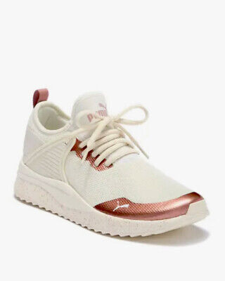 AU80.16 • Buy Puma Pacer Next Cage Women's Shoes Size 9.5 Whisper White/rose Gold 368271 01