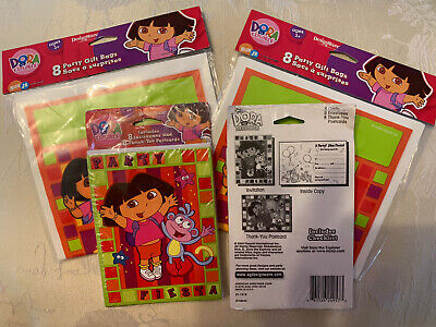 £3.99 • Buy 16 X Dora The Explorer Party Invites, Thankyou Cards And Party Bags