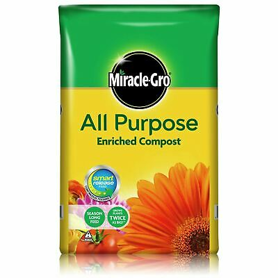£8.89 • Buy Miracle Gro All Purpose Enriched Compost 40 Litre Garden Planting Growing Soil