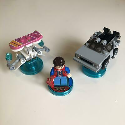 AU69.99 • Buy LEGO Dimensions 71201 | Back To The Future Level Pack | Used 100% Complete