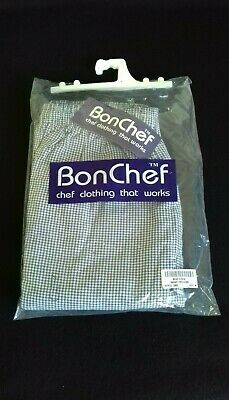 £8.99 • Buy Bonchef Baggy Chef Trousers - Blue & White Check - Size M