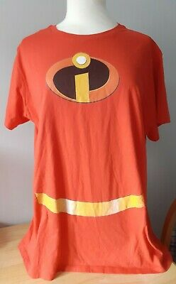 £9 • Buy New Womens Disney Incredibles T-shirt Red 2xl