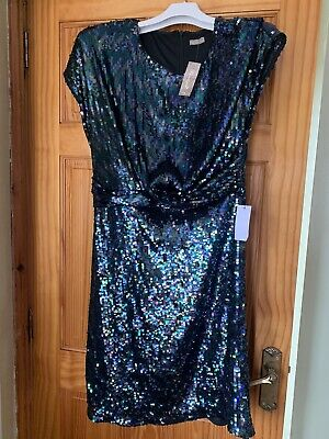 £18 • Buy Sparkly Sequin Party Dress Size 16