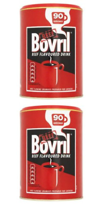 £33.86 • Buy Bovril Beef Flavoured Drink 2 X 450g Catering Tub Granules 180 Servings BRITISH