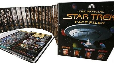 £25 • Buy The Official Star Trek Fact Files   Issues 1 To 163