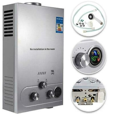 £143.36 • Buy Water Heater Propane Gas Lpg Tankless 6/8/10/12/16/18l 4.8gpm Stainless Steels