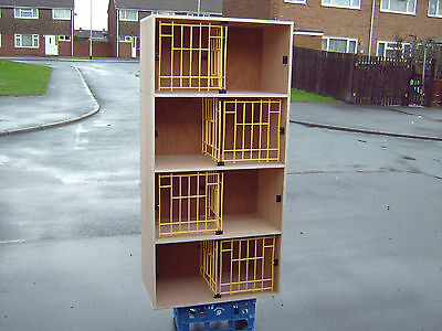 £75 • Buy Racing Pigeons Dowell Nest Boxs / Perches /baskets/rabbit Hutch Dog Kennel