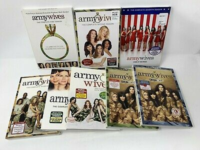 £218.94 • Buy Army Wives: Complete Series DVD Set  Seasons 1(2-7NEW SEALED W Slipcovers (read)