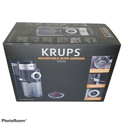 £72.40 • Buy KRUPS GX5000 Adjustable Burr Coffee Grinder 15Oz Container - Brand New