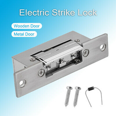 £17.92 • Buy DC 12V Electric StrikeLock Metal Electronic Lock For Door Access Control System