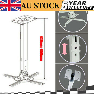 AU25.68 • Buy 4 Arm Universal Projector Wall Ceiling Mount Bracket Stand Extendable AU Stock