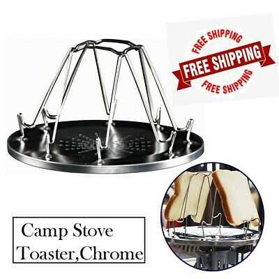 AU12.47 • Buy NEW Coleman Camp Stove Toaster, Chrome AU Stock, Free Shipping