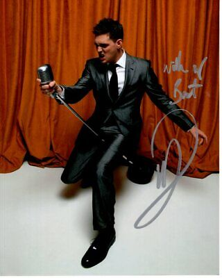 £84.96 • Buy MICHAEL BUBLE Signed Autographed Photo