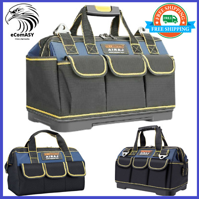 £30.41 • Buy Electrical Electrician Contractor Tool Bag Box Carrier Plumbers Rucksack Oxford