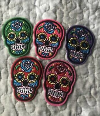 £9.99 • Buy Candy Skull Iron On Transfers