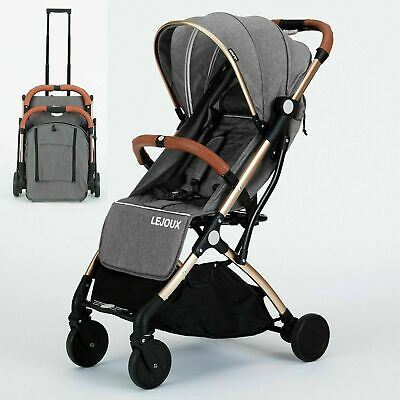 View Details LEJOUX™ FOLDABLE BABY TROLLEY STROLLER PUSHCHAIR PRAM TODDLER BUGGY + RAIN COVER • 99.99£