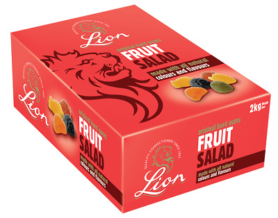 £12.99 • Buy Lion Fruit Salad Full 2kg Traditional Sweets Gift Box