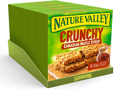 £8.33 • Buy Nature Valley Canadian Maple Syrup Cereal Bars 42g (Pack Of 5, Total 25 Bars)