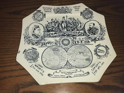 £12 • Buy Queen Victoria Jubilee Plate 1887 (Octagonal) Balance Of Payments Plate